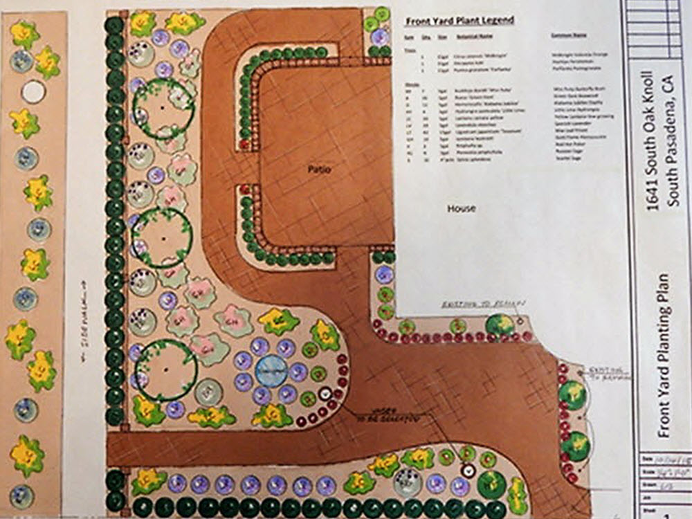 Ed's Landscaping Design Plans by Liz