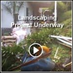Ed's Landscaping Project construction underway in La Canada, CA videos