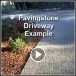 Ed's Landscaping pavingstone driveway project in Pasadena CA example videos