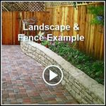Landscaping Fence and Landscape Project in La Canada, CA Video