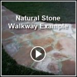 Ed's Landscaping Natural Stone Walkway Project in La Crescenta CA Example Videos