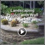 Ed's Landscaping Landscaping with cultured stone veneer Project in La Canada, CA Example