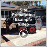 Ed's Landscaping project Site Preparation in Glendale, CA Videos