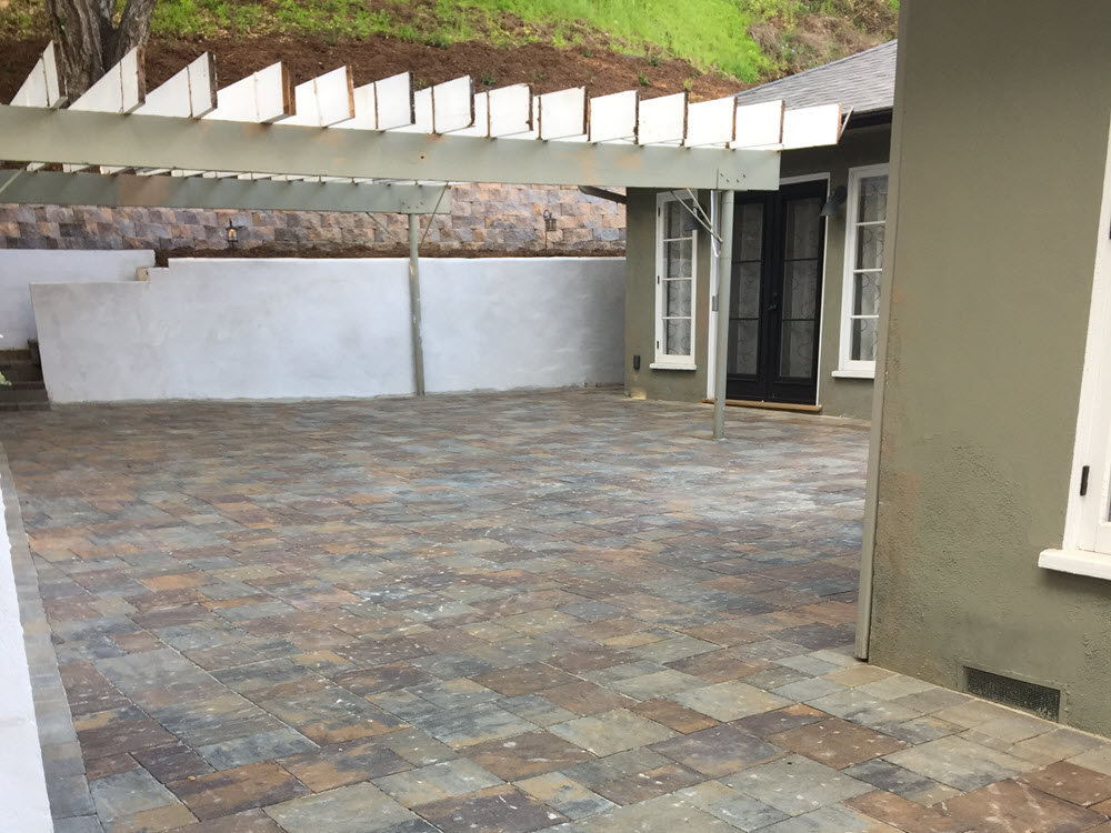 Ed's Landscaping in Pasadena Patio Project