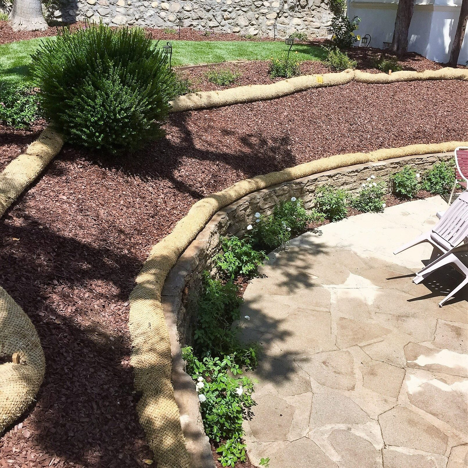 Ed's Landscaping Patio and Garden planter